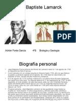 Jean-Baptiste Lamarck Adriàn Forés