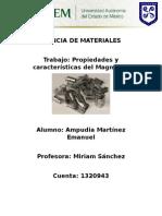 Magnesio, ciencia de materiales.