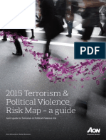 2015 Guide Terrorism Political Violence Risk Map
