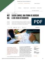 Metodología Canvas_ La Nueva Forma de Agregar Valor