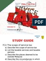Apa 8023 Taxation. Service Tax