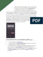 tipo de calculadora cientifica