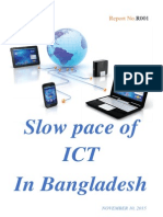 Report on Slow Pace of ICT in Bangladesh (1)
