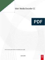Mediaencoder Reference