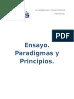 Paradigmas y Principios