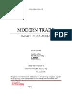 Modern Trades and Coca Cola