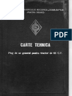 Cartea Tehnica Plug de Uz General Pentru Tractor de 65 CP
