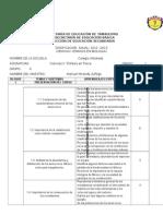 Dosificacion Anual de Ciencias 1