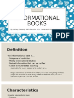 genre lit presentation informational books