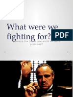 what were we fighting for