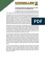 Ficha Informativa Brutalidad Policiaca Ayotzinapa