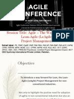 Agile the Way Forward by Suhail Iqbal
