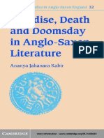 Ananya Jahanara Kabir-Paradise, Death and Doomsday in Anglo-Saxon Literature (Cambridge Studies in Anglo-Saxon England) (2001)
