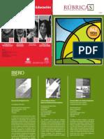 Revista Rúbricas. Número especial sobre Paz, Justicia y Seguridad Ciudadana