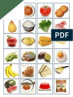 tablero comunicación alimentos