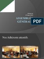 Assemblée Générale Diaporama Power Point