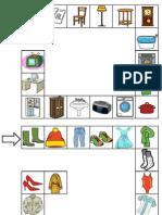 tablero para ejercitar categorías semánticas