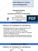 Concept and Process of Marketing_Session 01