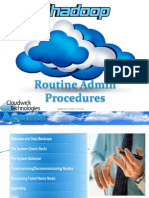 04 Routine Admin Procedures