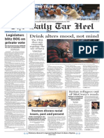The Daily Tar Heel for Nov. 19, 2015