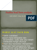 Analisa Soal