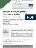 Development of ceftriaxone resistance in Salmonella enterica.pdf