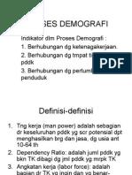 PROSES DEMOGRAFI