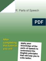 1.A Parts of Speech
