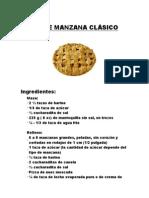 Pie de Manzana Clásico