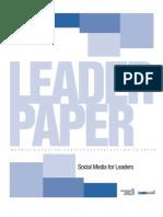 Social Media for Leaders