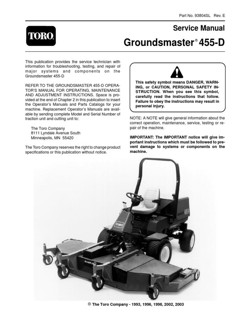 toro mower model 20017 repair manual