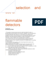 Gas Detector Guidelines