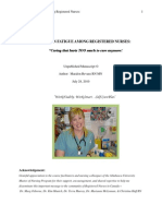 unpublished manuscript  rev  - compassion fatigue among registered nurses   july 2010
