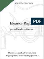 Lennon_McCarney. Eleanor Rigby 2 Guit.