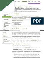 Www Torproject Org Docs Tor Hidden Service HTML En