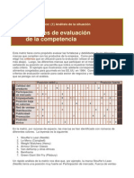 Matrices de Evaluacionn de La Competencia