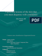 Pigmented Lesions of the Skin That You Must Diagnose With Confidence