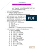 User Manual for ZMMFV11 Material Vendor Combination Tax Code V1