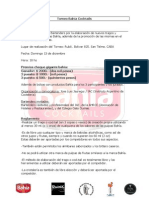 Torneo Bahía Cocktails Reglamento 2015