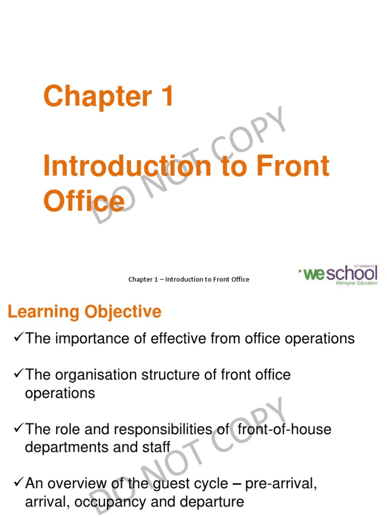 Chapter 1 introduction to front office2 sales foodservice altavistaventures Choice Image