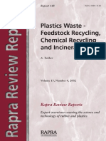 (Rapra Review Reports) Tukker, Arnold-Plastics Waste _ Feestock Recycling, Chemical Recycling and Incineration-iSmithers Rapra Publishing (2002-01-01).pdf