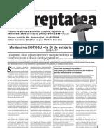 Ziarul Dreptatea - Editie comemorativă