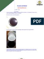 Peroxide Acid Method