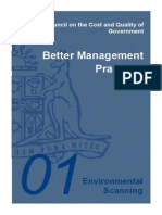 Better Management Practices Environmental Scanning - 20 May 2004