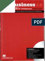 The Business 2.0 B1+ Intermediate Students Book Pdf