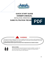 AquaPro Sand Filter System Owners Manual1