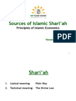 2 - Sources of Shariah