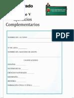 6to Grado - Bloque 5- Ejercicios Complementarios (1)