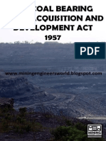 Coal Bearing Areas Act 1957 - MEW