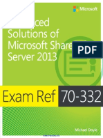 Exam Ref 70-332 Advanced Solutions of Microsoft SharePoint Server 2013